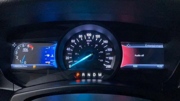 Ford Expedition-Odometer View