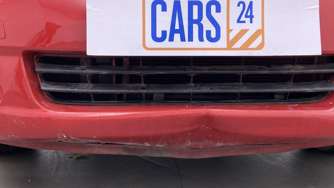 Front Bumper Dent (4 to 5 inches)