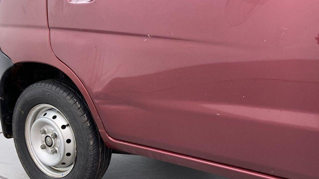 Right Rear Door Dent