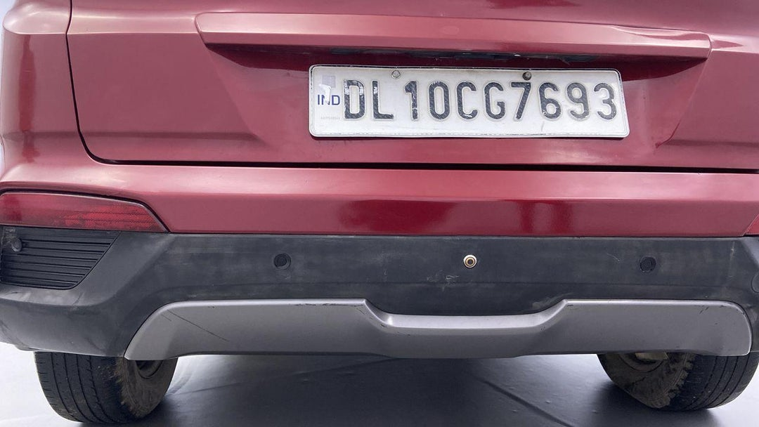 Rear Bumper Scratches (6 to 12 inches)