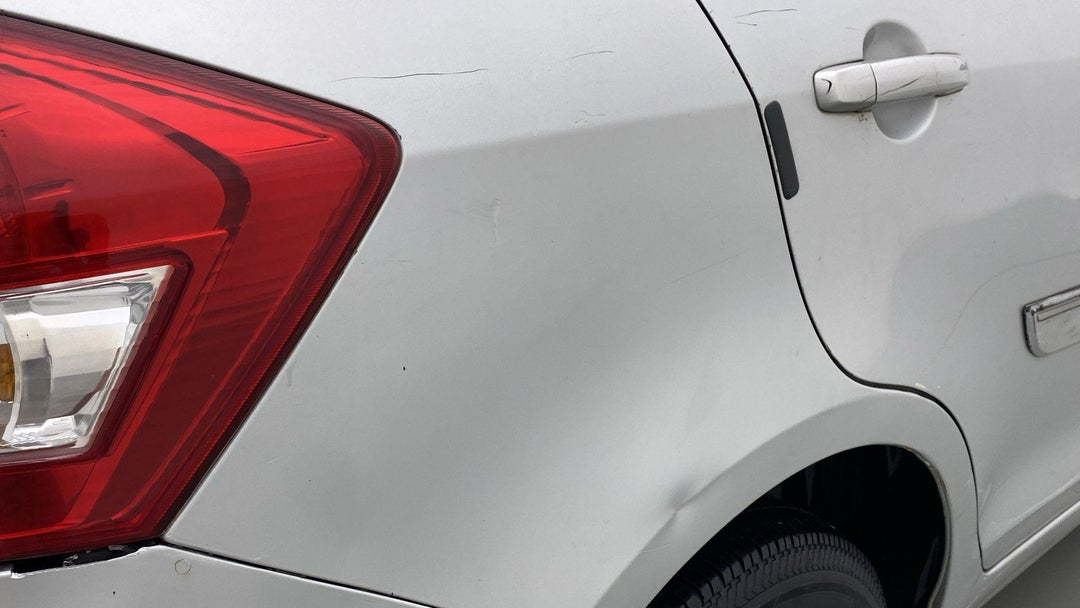 RIGHT QTR PANEL DENT (2 TO 3 INCHES)