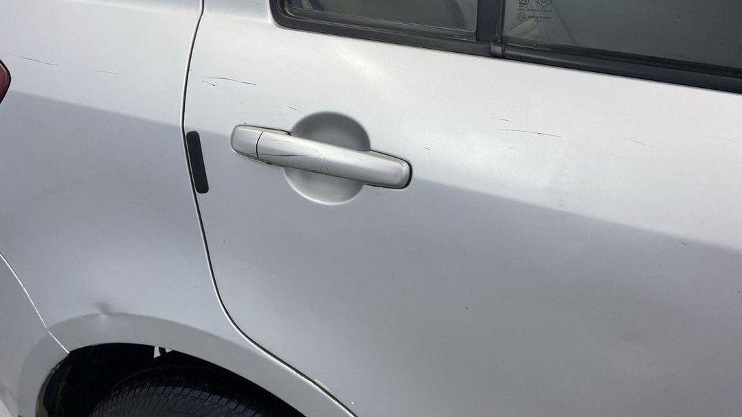 Right Rear Door Scratches
