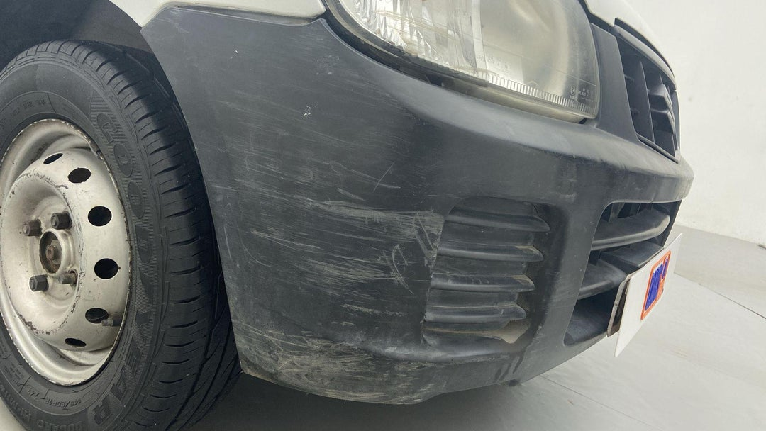 FRONT BUMPER SCRATCHES (2 TO 3 INCHES)