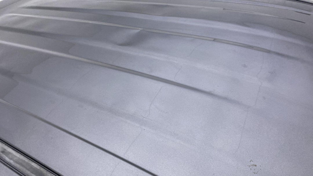 ROOF MULTIPLE DENTS/NO PAINT DAMAGE (2 TO 3 INCHES)