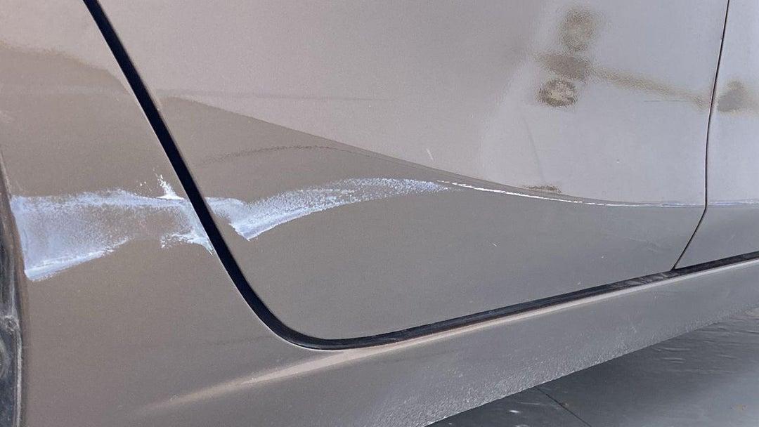 Right Rear Door Scratched
