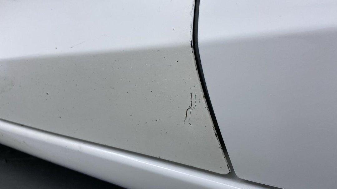 Left Front Door Multiple Scratches