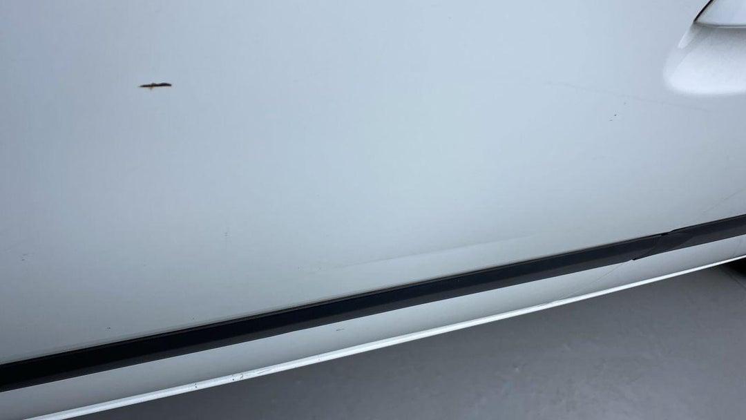 Left Front Door Heavy Scratch (11 to 12 inches)