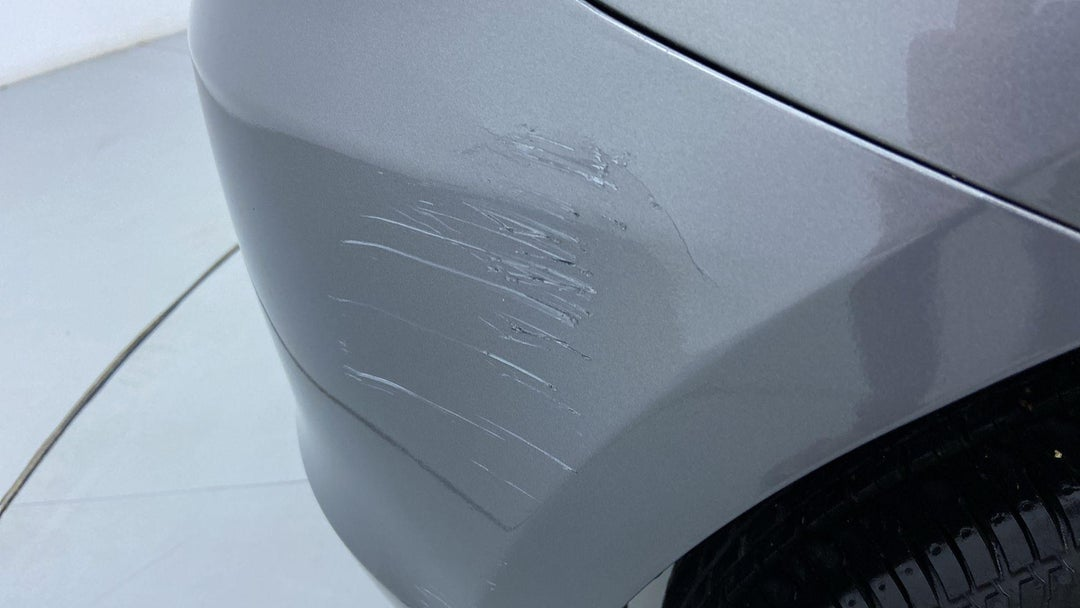 RIGHT REAR BUMPER/COVER MULTIPLE SCRATCHES (REPAIR REQUIRED)