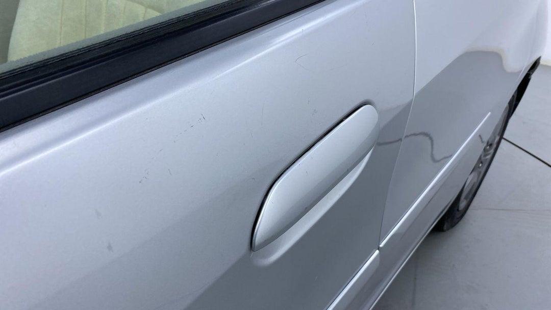 Left Front Door Multiple Scratches Light