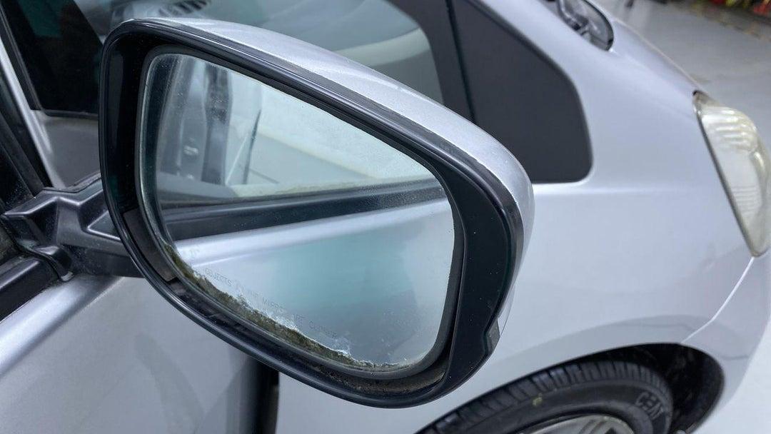 Left Front Mirror Housing Previous Repair