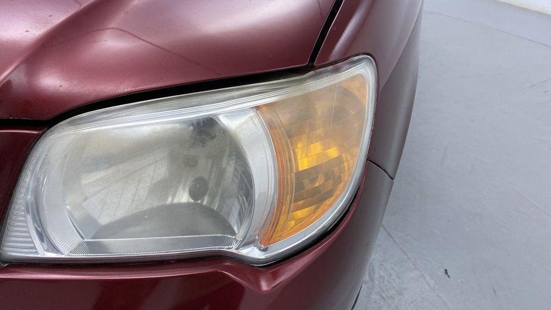 Left Head Lamp Multiple Scratches Light