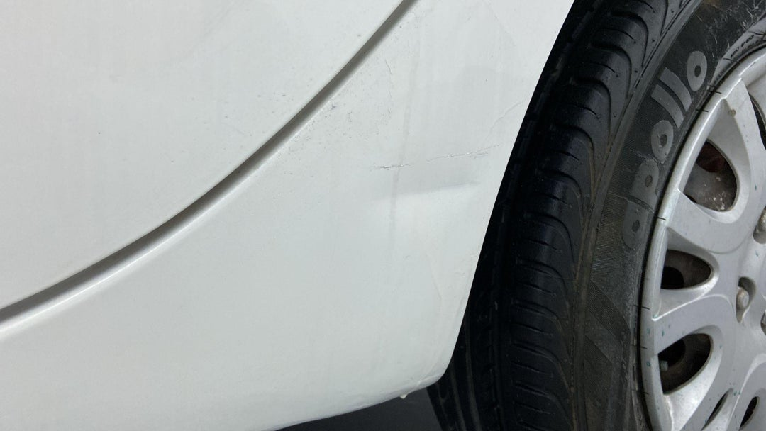 Left Rocker Panel Multiple Scratches Light (2 to 3 inches)