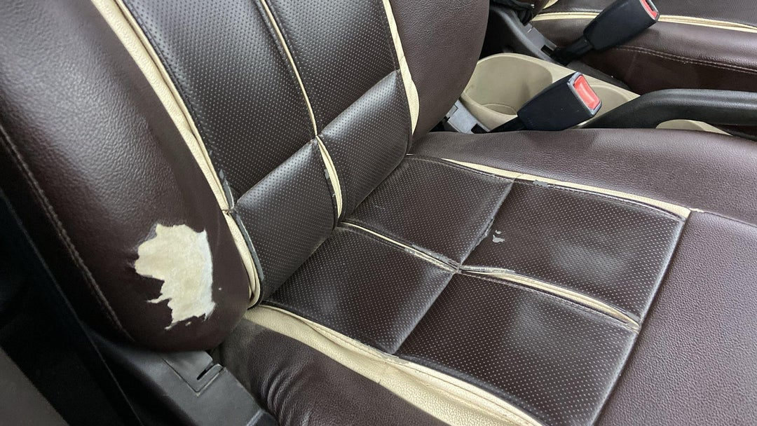Right Front Seat Torn (5 to 6 inches)
