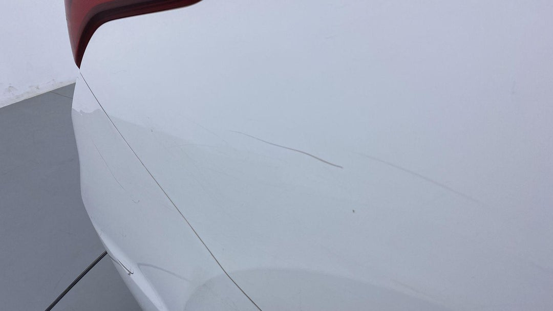 RIGHT QTR PANEL SCRATCHED