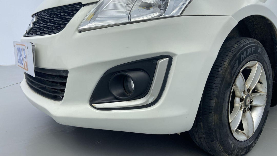 FRONT LEFT BUMPER/COVER SCRATCHES (1 TO 3 INCHES)