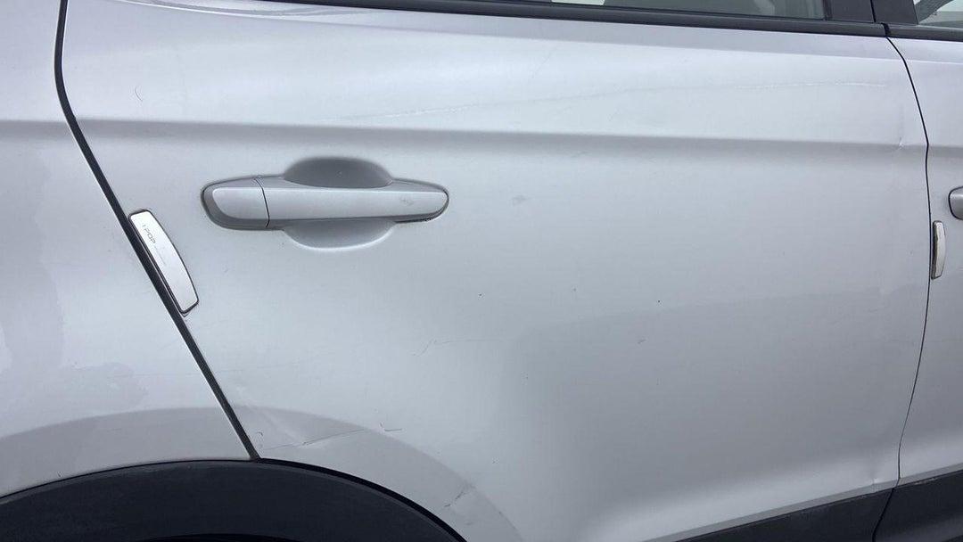 Right Rear Door Multiple Dents/No Paint Damage