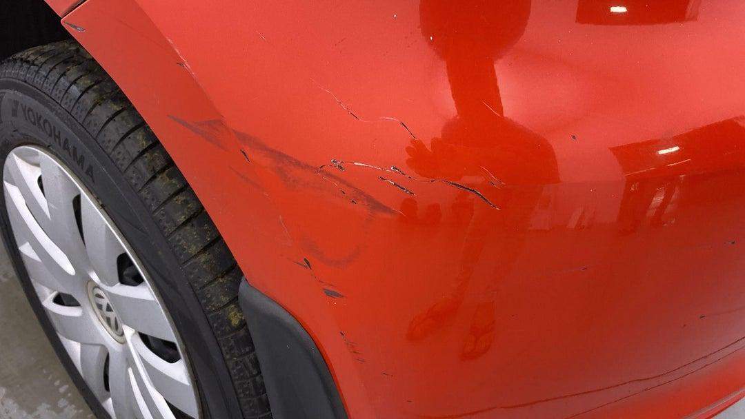 Left Rear Bumper/Cover Scratches