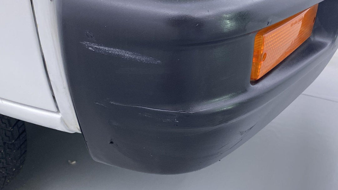 Front Right Bumper/Cover Scratches