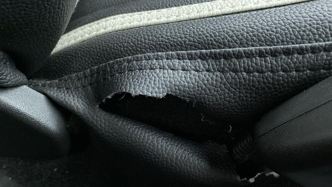 LEFT FRONT SEAT TORN