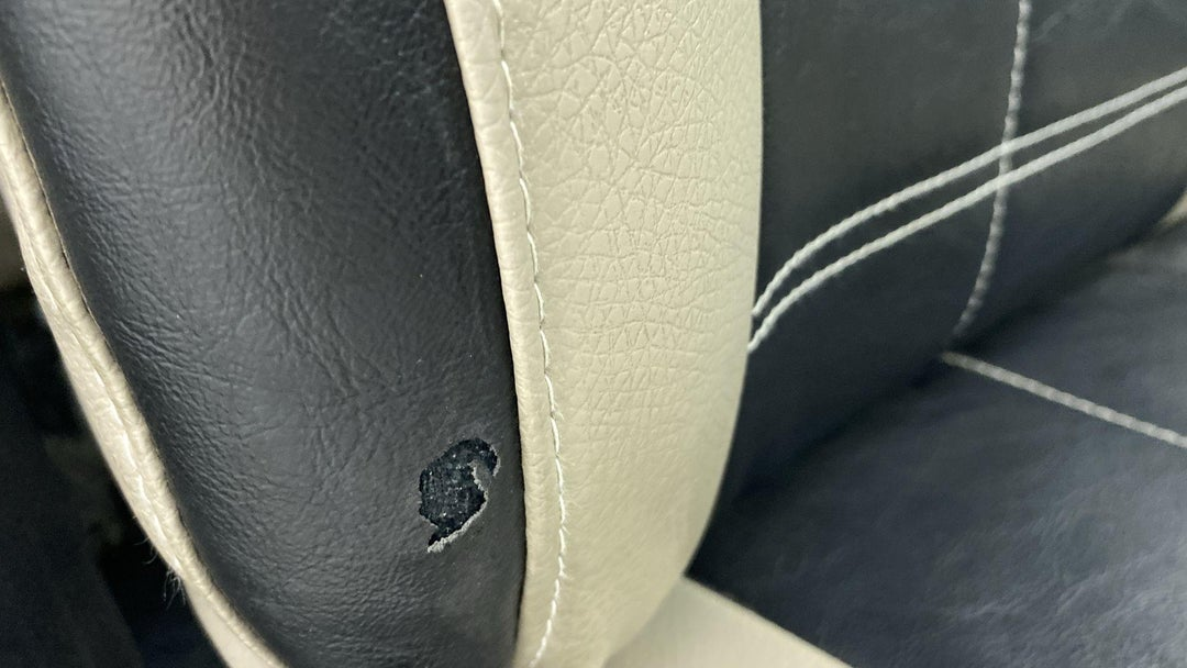 RIGHT FRONT SEAT TORN