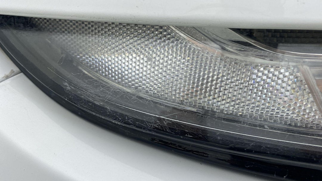 RIGHT HEAD LAMP SCRATCHES