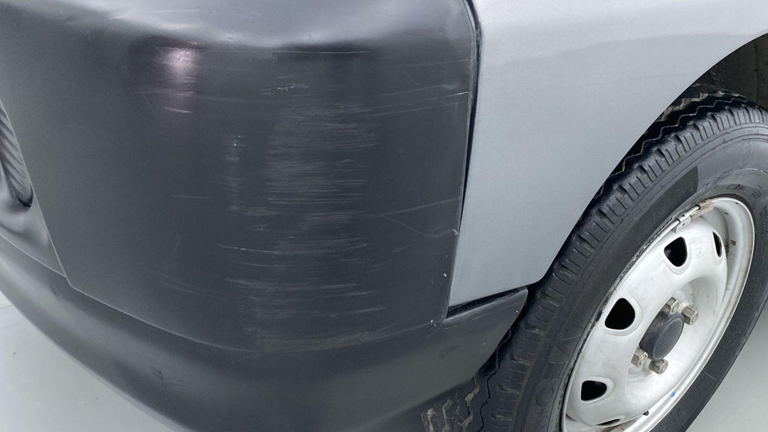 Front Left Bumper/Cover Scratches