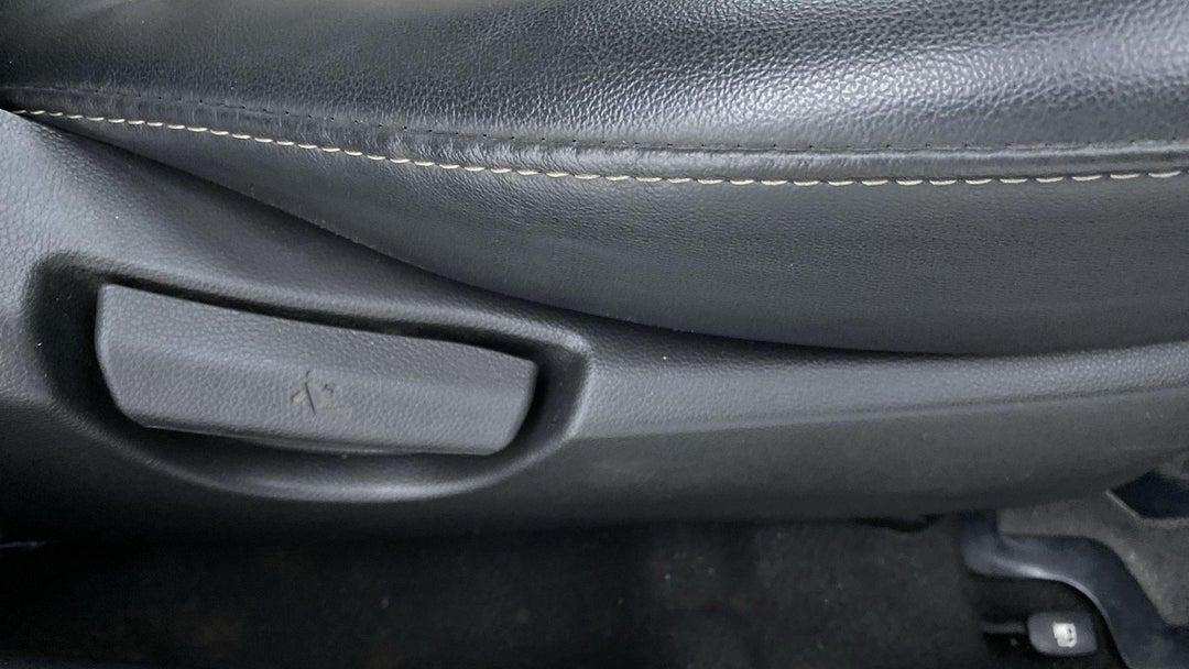 DRIVER SIDE ADJUSTMENT PANEL