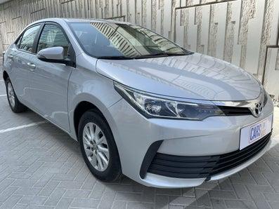 2017 Toyota Corolla 2.0 SE