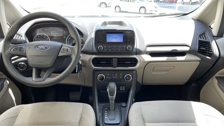 Ford Ecosport-DASHBOARD VIEW