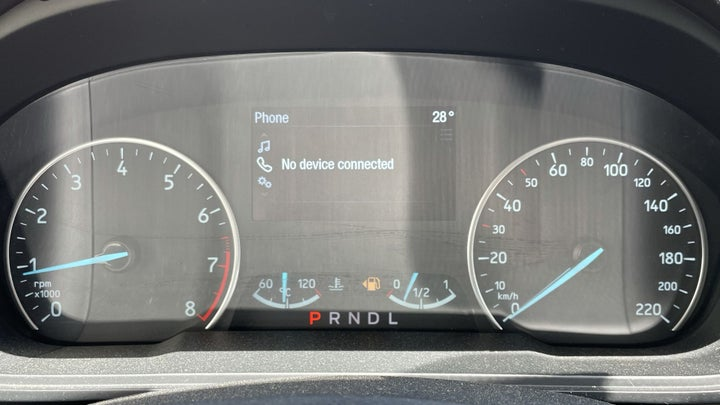 Ford Ecosport-ODOMETER VIEW