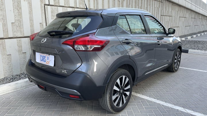Nissan Kicks-RIGHT BACK DIAGONAL (45-DEGREE VIEW)