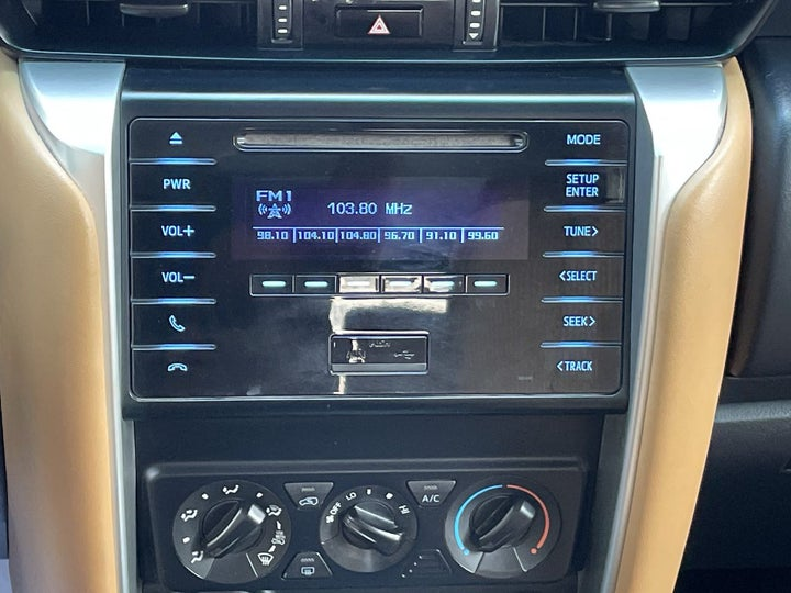 Toyota Fortuner-INFOTAINMENT SYSTEM