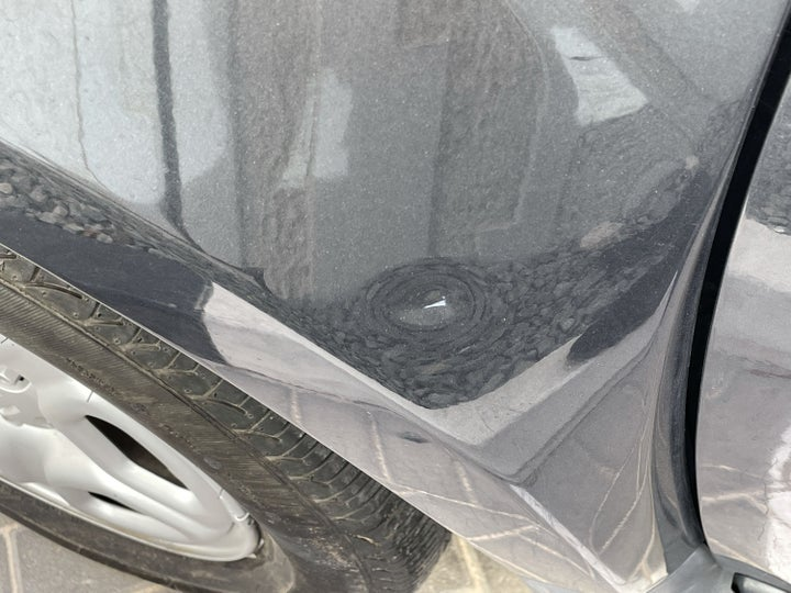 Renault Duster-Left Apron Dent (1 to 2 inches)