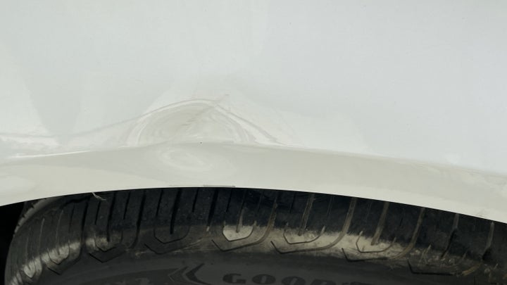 Nissan Sunny-Right Apron Dent (1 to 3 inches)
