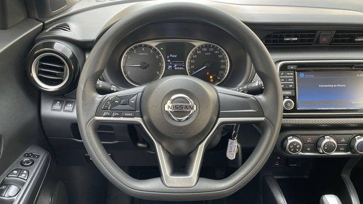 Nissan Kicks-STEERING WHEEL CLOSE-UP