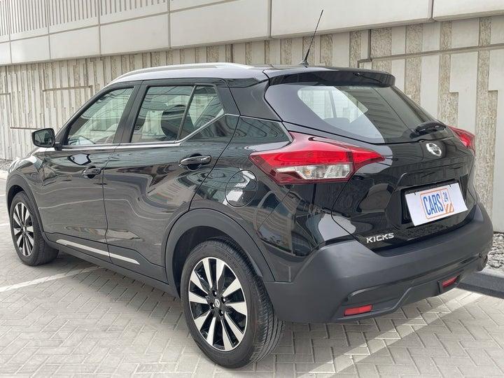Nissan Kicks-LEFT BACK DIAGONAL (45-DEGREE) VIEW