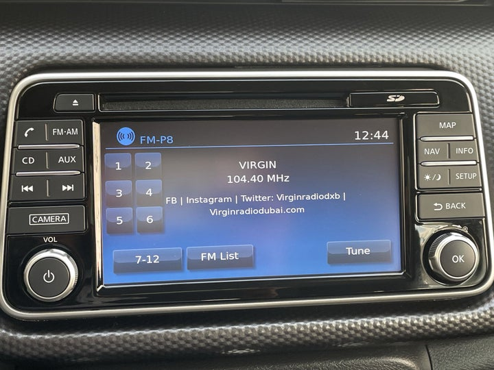 Nissan Kicks-INFOTAINMENT SYSTEM