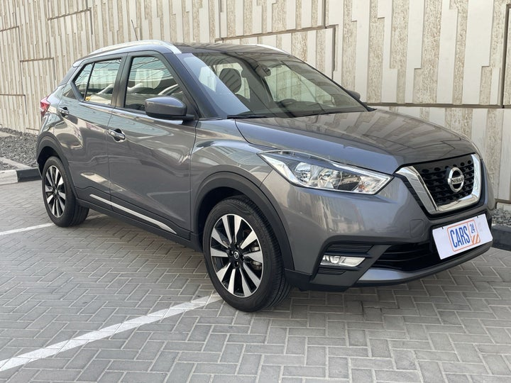 Nissan Kicks-RIGHT FRONT DIAGONAL (45-DEGREE) VIEW