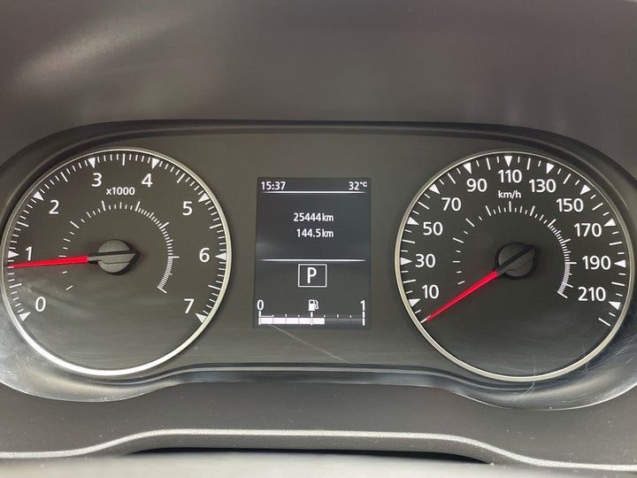 Renault Duster-ODOMETER VIEW