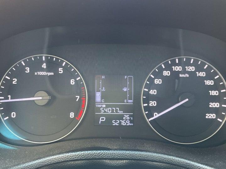 Hyundai Creta-ODOMETER VIEW