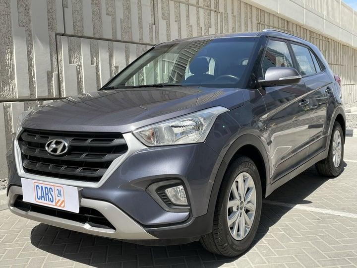 Hyundai Creta-LEFT FRONT DIAGONAL (45-DEGREE) VIEW