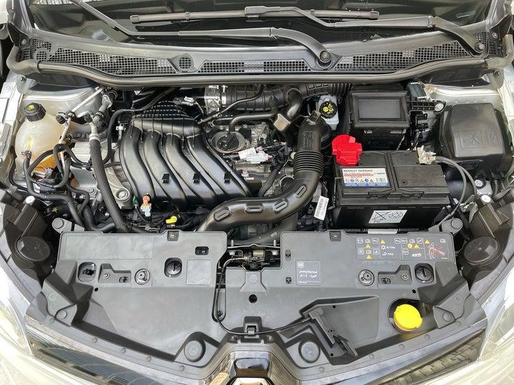 Renault Captur-OPEN BONNET (ENGINE) VIEW