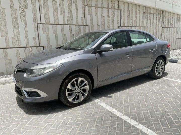 Renault Fluence-LEFT FRONT DIAGONAL (45-DEGREE) VIEW