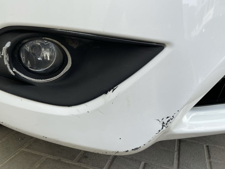Nissan Sunny-Front Right Bumper/Cover Multiple Dents/Paint Damage (6)