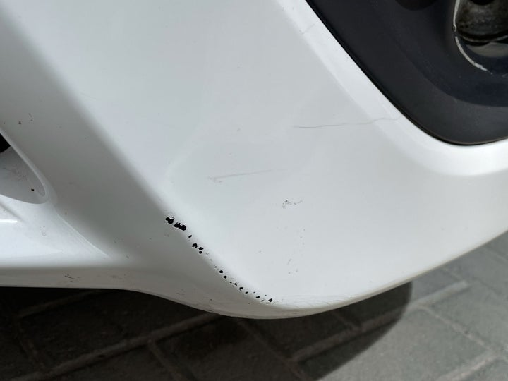 Nissan Sunny-Front Left Bumper/Cover Light Scratch (1 to 3 inches)