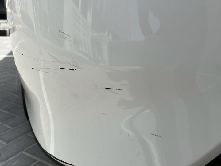 Nissan Sunny-Left Rear Bumper/Cover Light Scratch (1/2 to 1 inch)