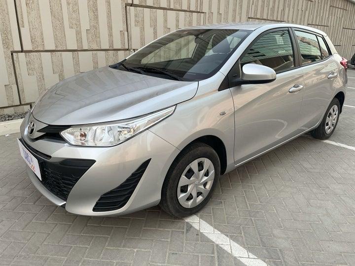 Toyota Yaris-LEFT FRONT DIAGONAL (45-DEGREE) VIEW