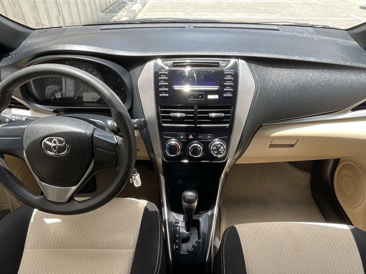 Toyota Yaris-DASHBOARD VIEW