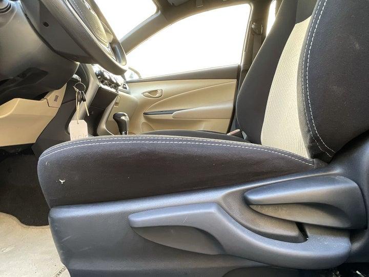 Toyota Yaris-DRIVER SIDE ADJUSTMENT PANEL