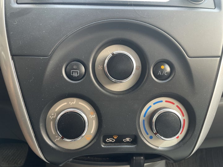 Nissan Sunny-AUTOMATIC CLIMATE CONTROL